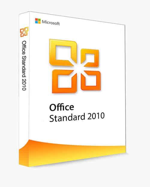 Acheter logiciel Office Standartd 2010