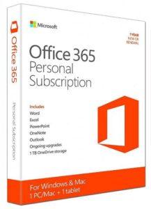 Office 365 Personal gebrauchte Softwarelizenz