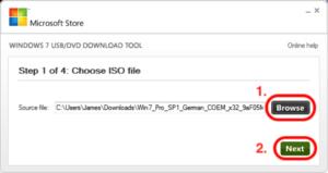 Windows-ISO auf USB Stick kopieren