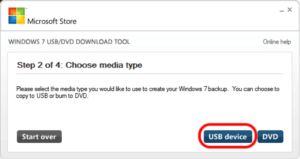 Windows-ISO USB-Stick zuweisen