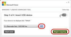 Windows 8 auf USB kopieren