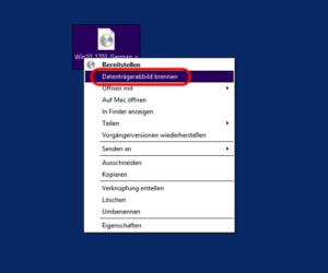 Windows 8 Datenträger brennen