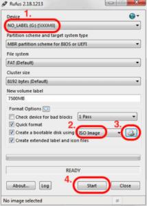 Windows 7 mit Rufus kopieren - 2