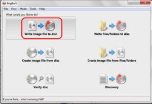 Windows 7 Image File auf Disk brennen